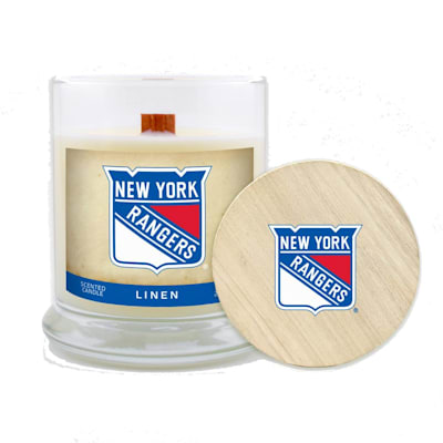 (NY Rangers 8oz Candle - Linen)