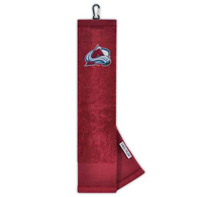 (Wincraft Face/Club Golf Towel - Colorado Avalanche)