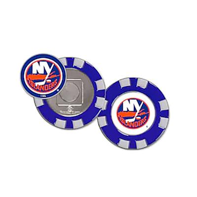 (Wincraft Poker Chip Ball Marker - NY Islanders)