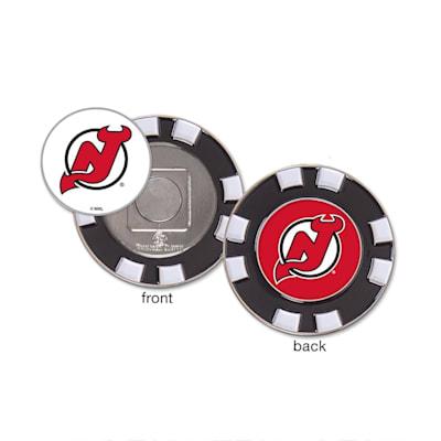 (Wincraft Poker Chip Ball Marker - New Jersey Devils)