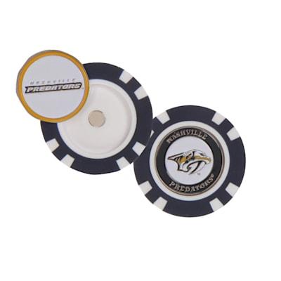(Wincraft Poker Chip Ball Marker - Nashville Predators)
