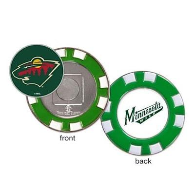 (Wincraft Poker Chip Ball Marker - Minnesota Wild)
