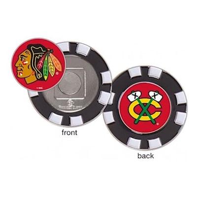 (Wincraft Poker Chip Ball Marker - Chicago Blackhawks)