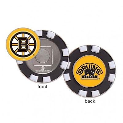 (Wincraft Poker Chip Ball Marker - Boston Bruins)