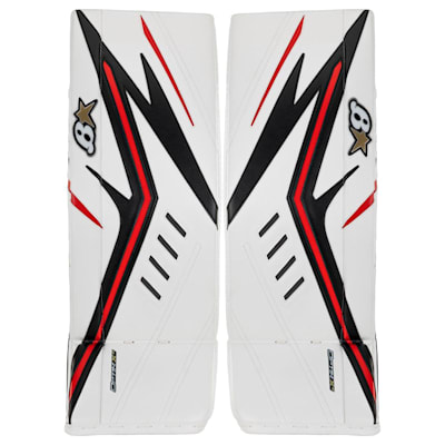 (Brians OPTiK X2 Goalie Leg Pads - Intermediate)