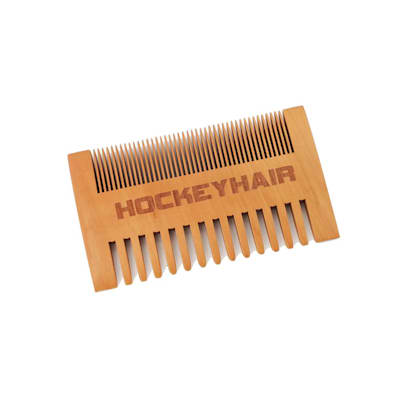 (HockeyHair Wooden Comb)