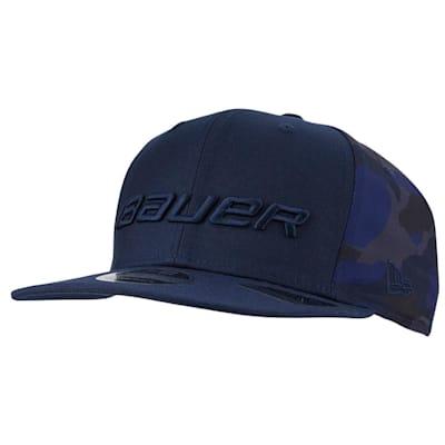 (Bauer New Era 9Fifty Camo Snapback Adjustable Hat - Adult)