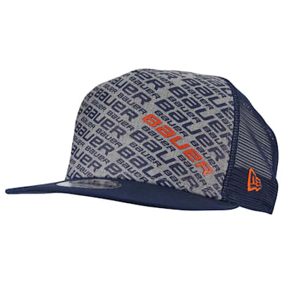 (Bauer New Era 9Fifty Repeat Snapback Adjustable Hat - Youth)