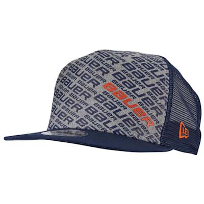 (Bauer New Era 9Fifty Repeat Snapback Adjustable Hat - Adult)