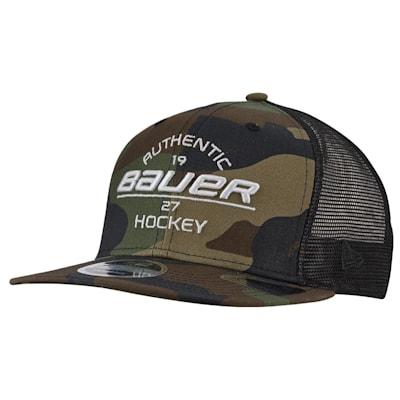 (Bauer New Era 9Fifty Original Camo Snapback Adjustable Hat - Youth)