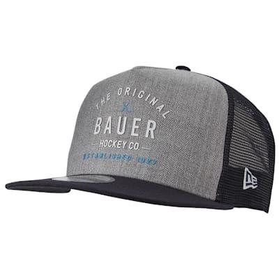 (Bauer New Era 9Fifty Original Script Snapback Adjustable Hat - Adult)