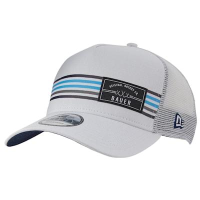(Bauer New Era 9Forty Stripe Patch Snapback Adjustable Hat - Adult)