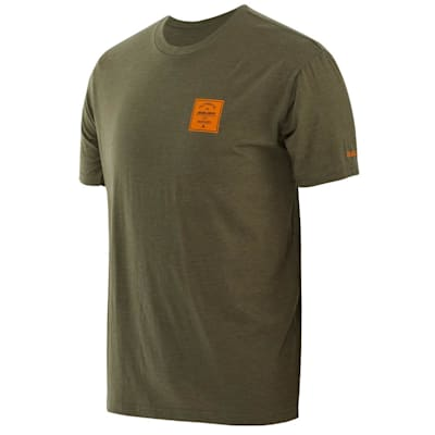 (Bauer Square Short Sleeve Crew Tee Shirt - Youth)