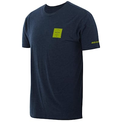 (Bauer Square Short Sleeve Crew Tee Shirt - Adult)