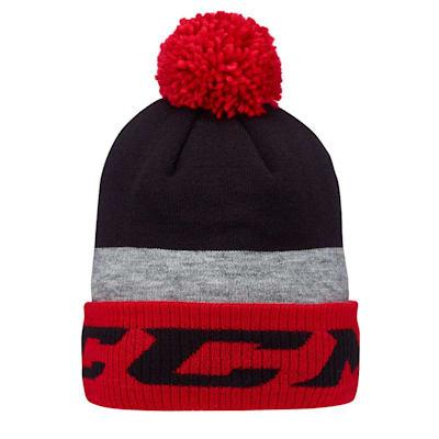 (CCM Core Pom Knit Winter Hat - Adult)