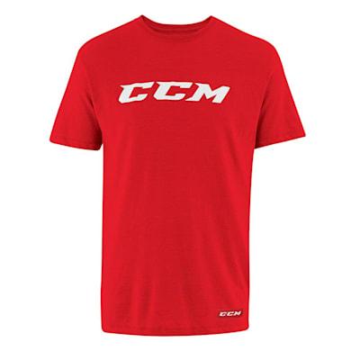 (CCM Core Short Sleeve Tee Shirt - Adult)