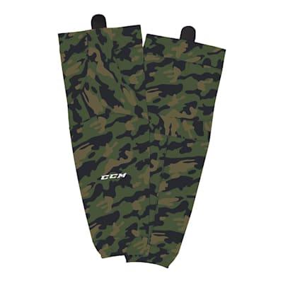 (CCM SX8000 Camo Hockey Socks - Intermediate)