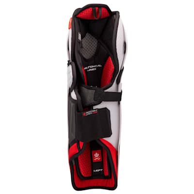 (CCM Jetspeed FT4 Pro Hockey Shin Guards - Junior)