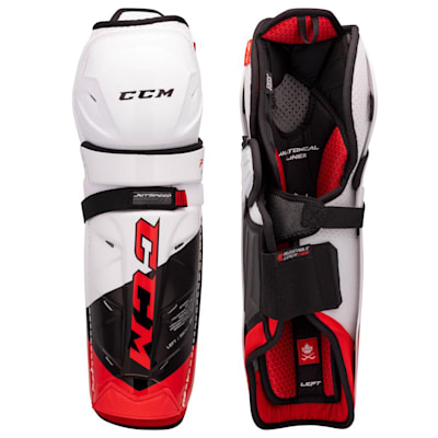 (CCM Jetspeed FT4 Pro Hockey Shin Guards - Senior)