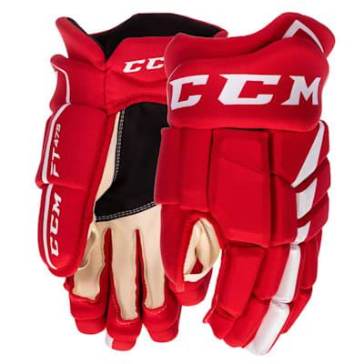 (CCM Jetspeed FT475 Hockey Gloves - Junior)