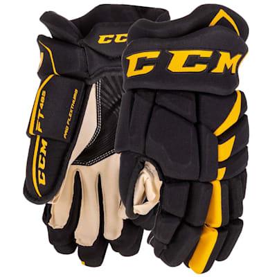 (CCM Jetspeed FT485 Hockey Gloves - Junior)
