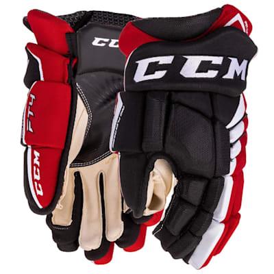 (CCM Jetspeed FT4 Hockey Gloves - Junior)