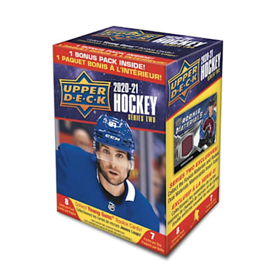 (UpperDeck 2020-2021 NHL Series Two Trading Cards Blaster Box)