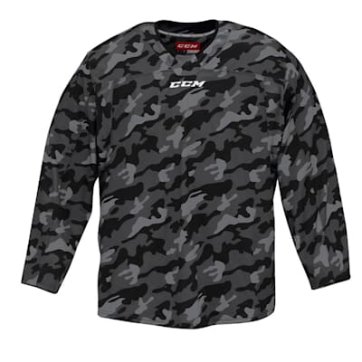 (CCM QuickLite 8000 Camo Hockey Jersey - Adult)