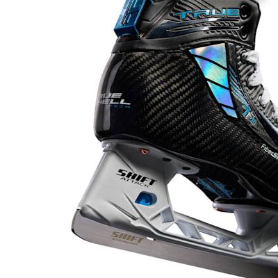 (TRUE TF9 Ice Hockey Goalie Skates - Junior)