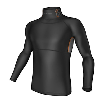(Ultra Compression Neck Long Sleeve Shirt - Youth)