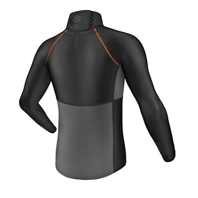 (Ultra Compression Neck Long Sleeve Shirt - Adult)