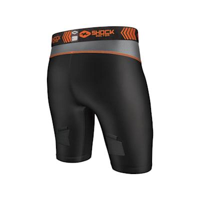 (Compression Shorts w/ BioFlex Cup - Youth)