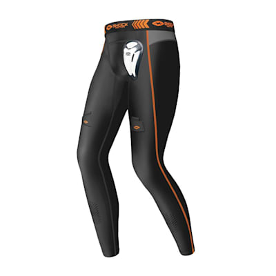 (Compression Pants w/ BioFlex Cup - Youth)