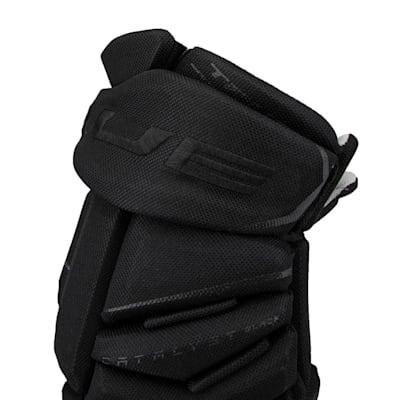 (TRUE Catalyst Black Hockey Gloves - Senior)