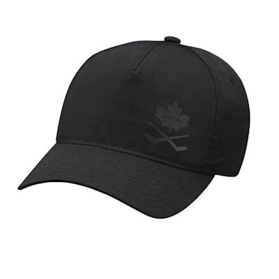 (CCM Blackout Meshback Trucker Adjustable Hat - Adult)