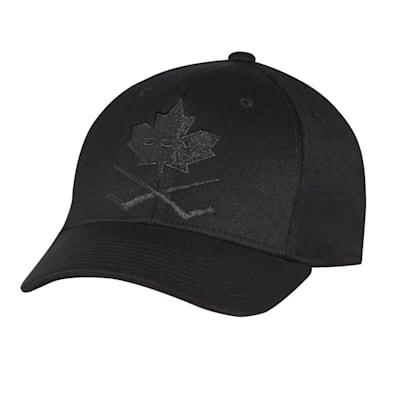 (CCM Blackout Leaf Structured Flex Hat - Adult)