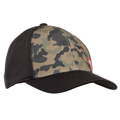 (CCM Camo Structured Flex Hat - Adult)