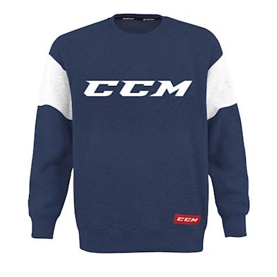 (CCM Core Fleece Crew Sweatshirt - Adult)