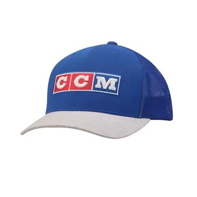 (CCM Classic Vintage Meshback Trucker Adjustable Hat - Adult)