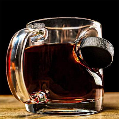(BenShot Hockey Puck Coffee Mug)