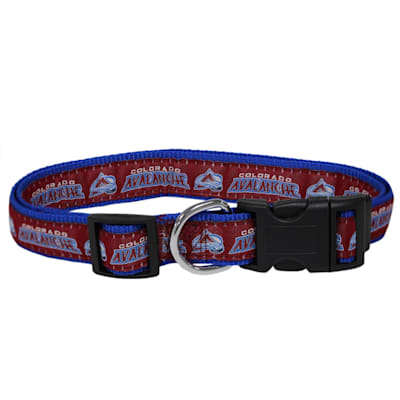 (NHL Pet Collar - Colorado Avalanche)