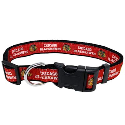 (NHL Pet Collar - Chicago Blackhawks)
