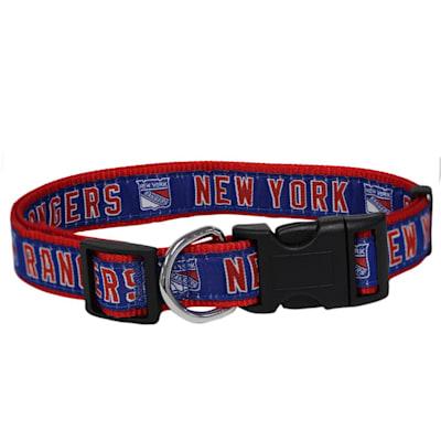(NHL Pet Collar - NY Rangers)