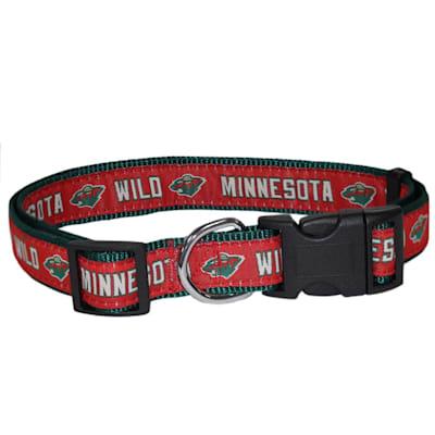 (NHL Pet Collar - Minnesota Wild)