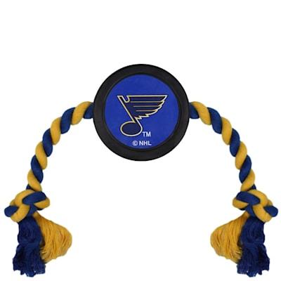 (Hockey Puck Pet Toy - St. Louis Blues)