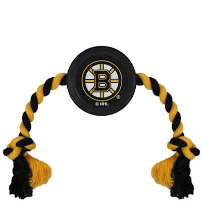 (Hockey Puck Pet Toy - Boston Bruins)