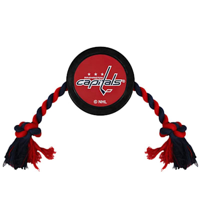 (Hockey Puck Pet Toy - Washington Capitals)