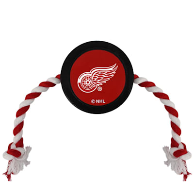 (Hockey Puck Pet Toy - Detroit Red Wings)