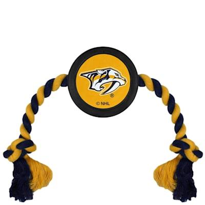 (Hockey Puck Pet Toy - Nashville Predators)