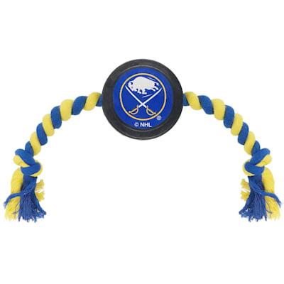 (Hockey Puck Pet Toy - Buffalo Sabres)